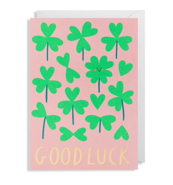 Good Luck Greeting Card - Lagom Design