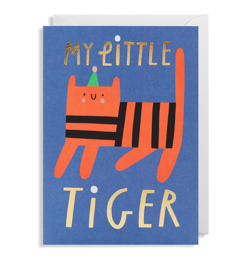 My Little Tiger Greeting Card - Lagom Design