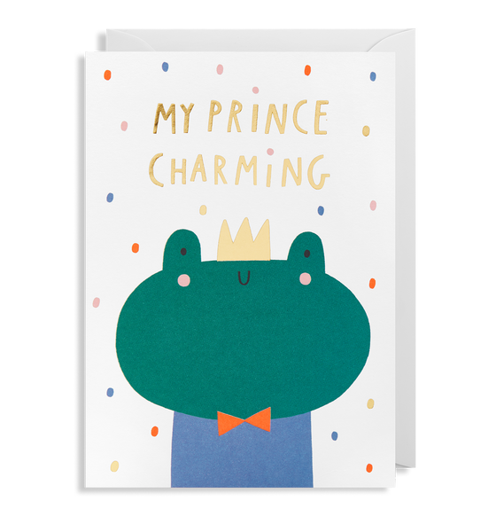 My Prince Charming Greeting Card - Lagom Design