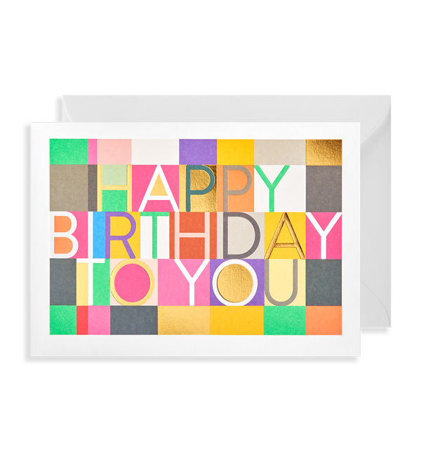 Happy Birthday To You - Lagom Design