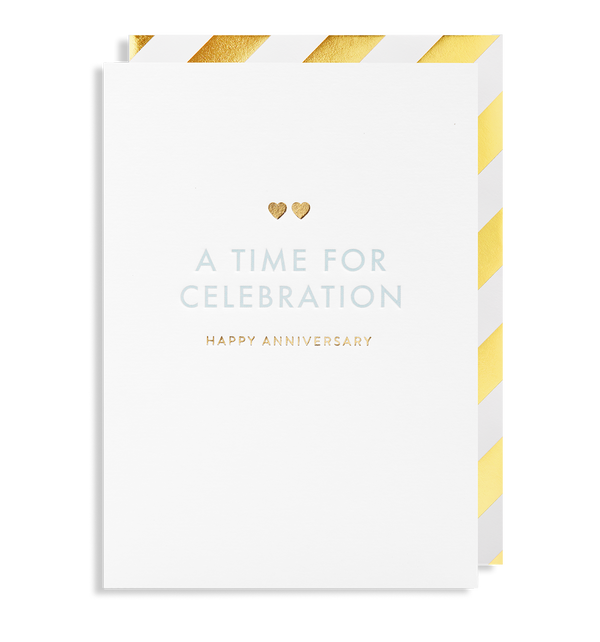 A Time for Celebration Happy Anniversary - Lagom Design
