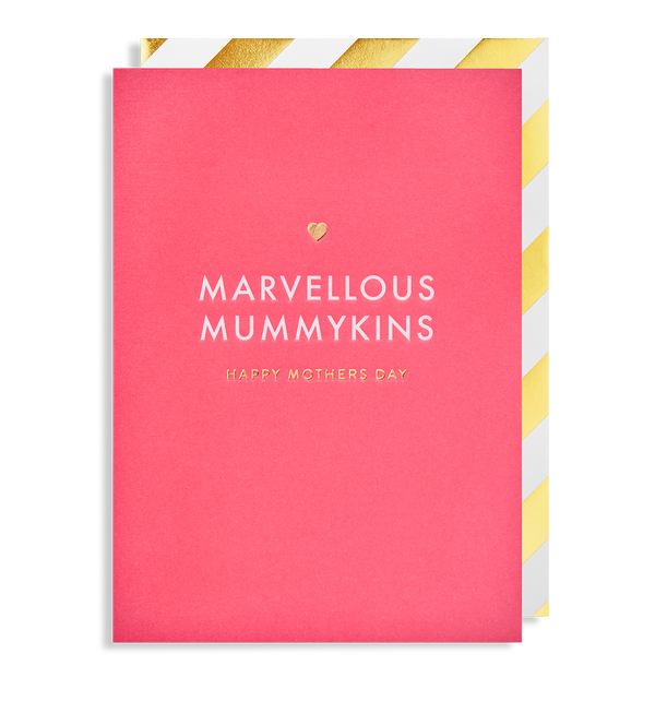 Marvellous Mummykins Happy Mothers Day - Lagom Design