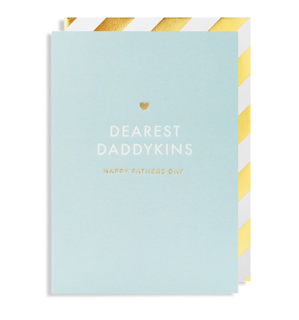 Dearest Daddykins Happy Fathers Day - Lagom Design