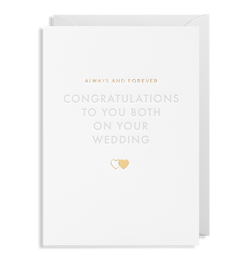 Congratulations To You Both On Your Wedding - Lagom Design
