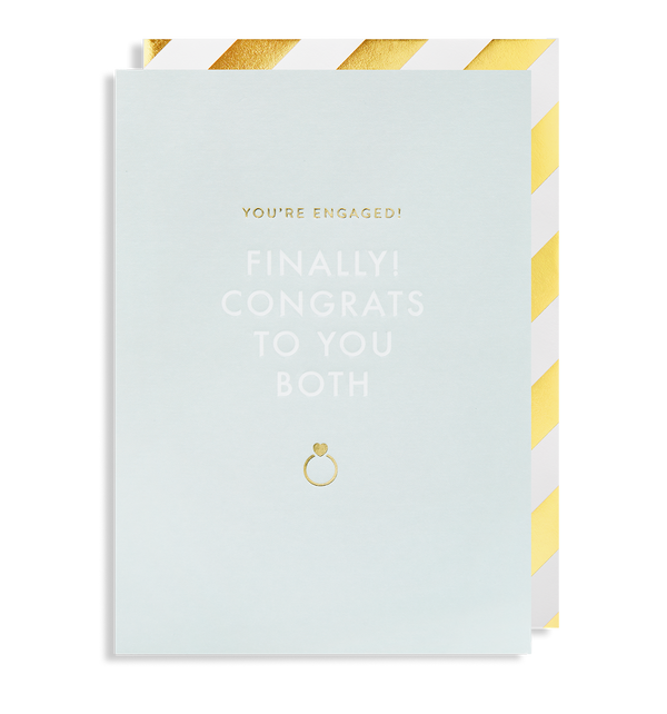 You're Engaged! Greeting Card - Lagom Design