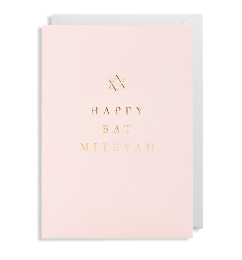 Happy Bat Mitzvah - Lagom Design