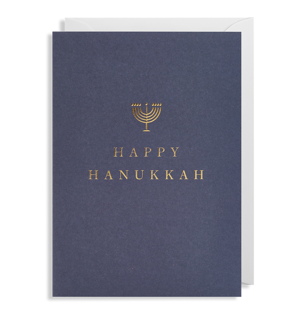 Happy Hanukkah - Lagom Design