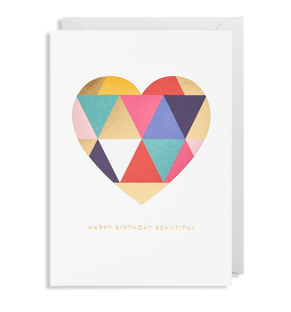 Birthday Wishes Greeting Car - Lagom Design