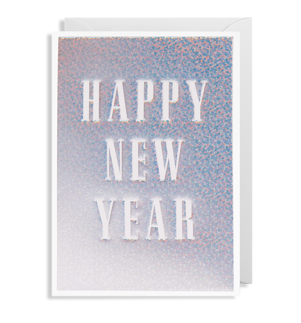 Happy New Year Greeting Card - Lagom Design