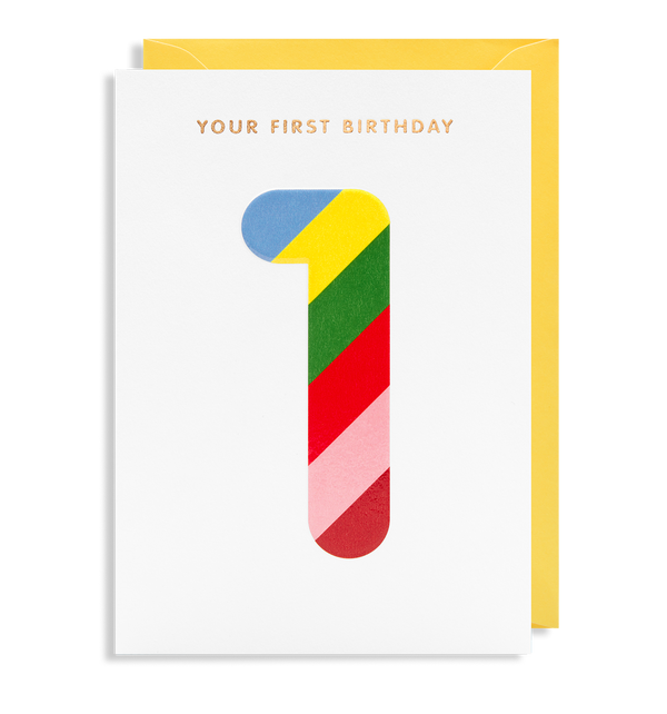 Your First Birthday - Lagom Design