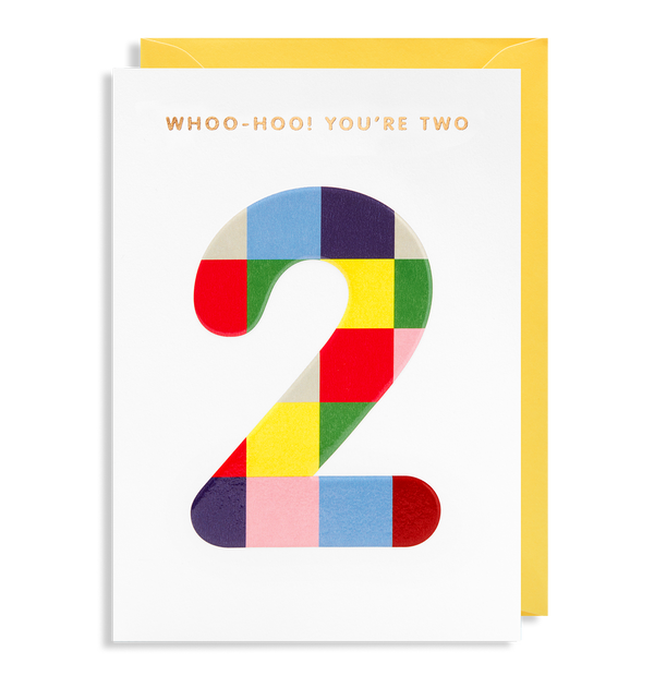 Woo-Hoo! You're Two - Lagom Design