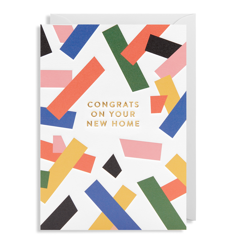 Congrats On Your New Home - Lagom Design