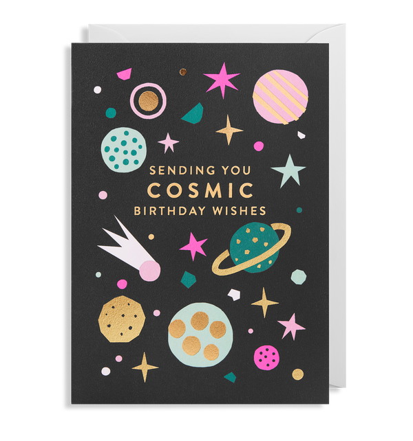 Cosmic Birthday Wishes - Lagom Design