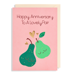 Happy Anniversary To a Lovely Pair - Lagom Design
