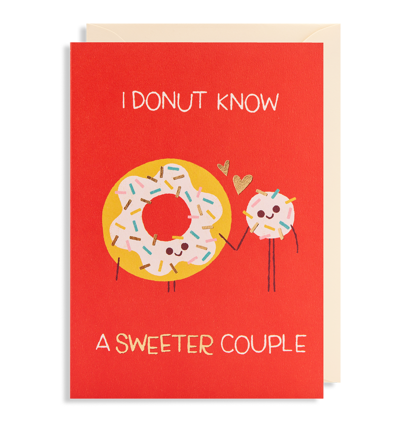 I Donut Know A Sweeter Couple