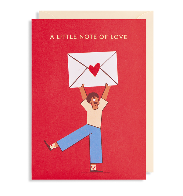 A Little Note of Love - Lagom Design