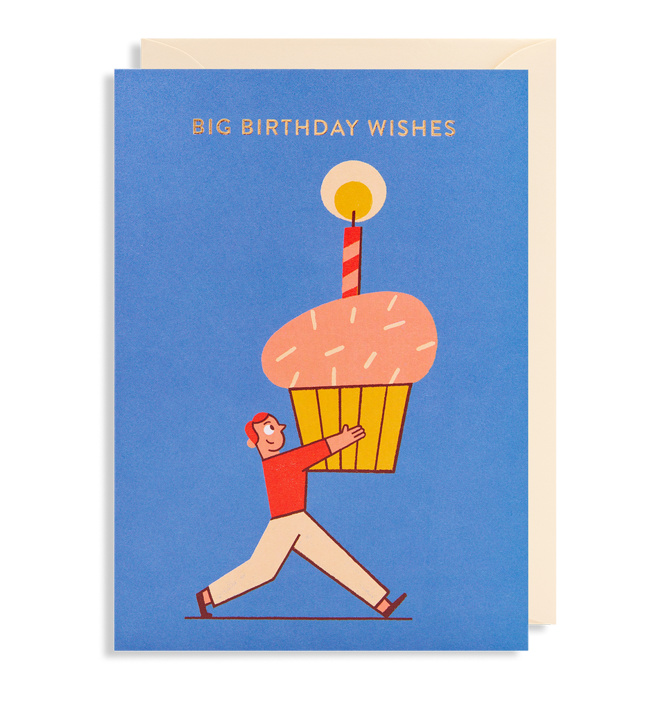 Big Birthday Wishes Lagom Design