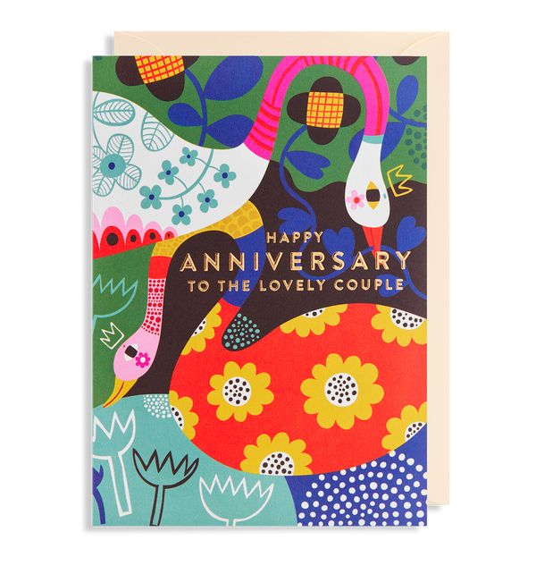 Happy Anniversary to the Lovely Couple - Lagom Design