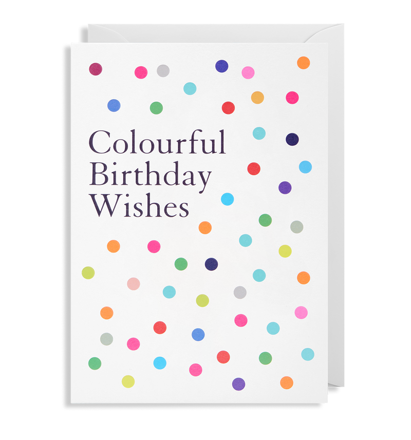 Colourful Birthday Wishes - Lagom Design
