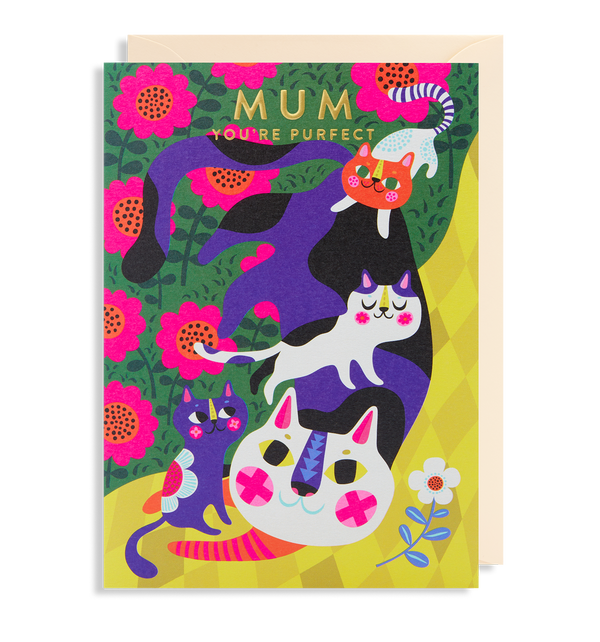 Mum You're Purfect - Lagom Design