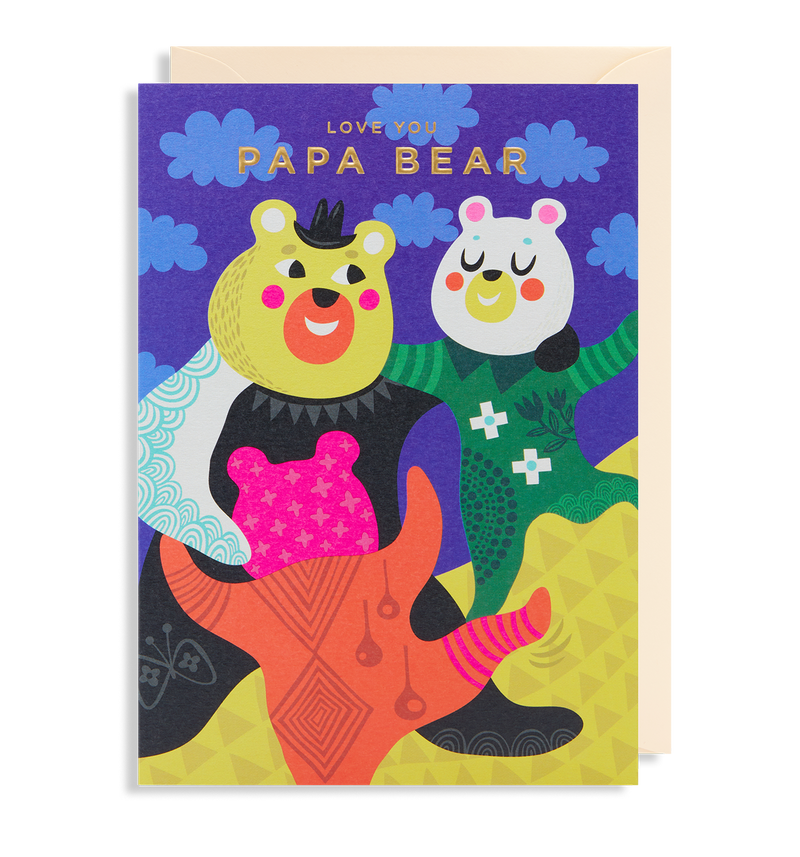 Love You Papa Bear - Lagom Design