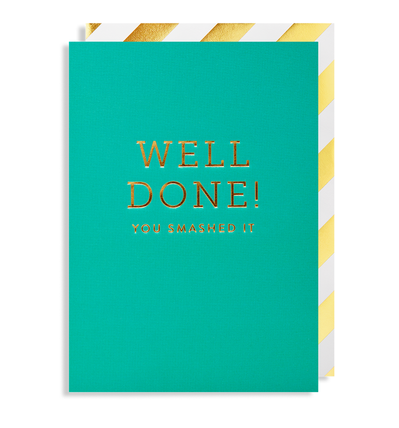 Well Done! You Smashed It - Lagom Design