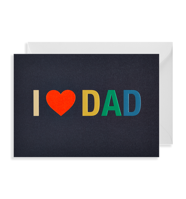 I Love Dad - Lagom Design