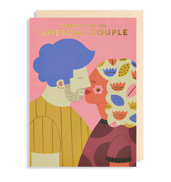 Congrats to the Awesome Couple - Lagom Design