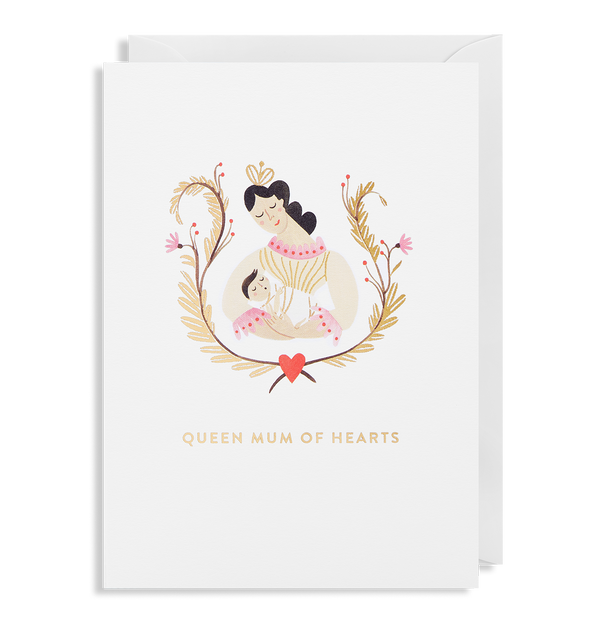 Queen Mum of Hearts - Lagom Design