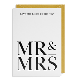 Love and Kisses to the New Mr & Mrs - Lagom Design