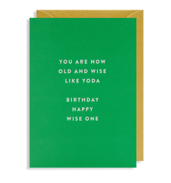 Birthday Happy, Wise One - Lagom Design
