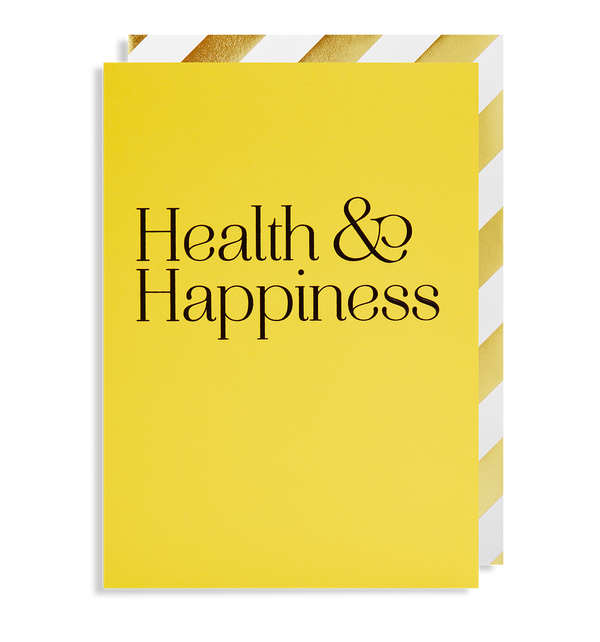 Health & Happiness - Lagom Design