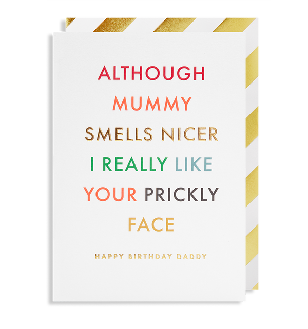 Happy Birthday Daddy - Lagom Design