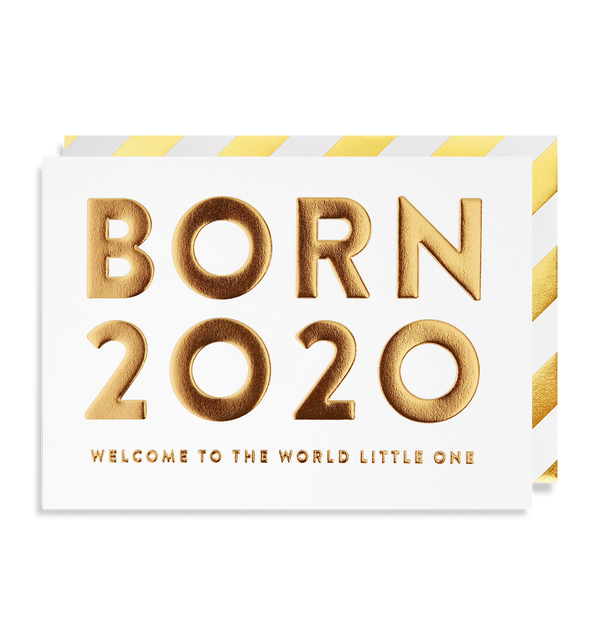 Born 2020 Welcome to the World Little One - Lagom Design