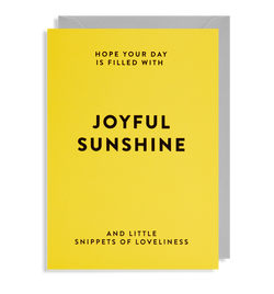 Joyful Sunshine - Lagom Design