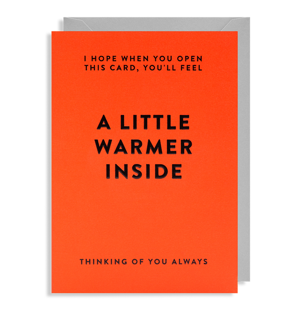A Little Warmer Inside - Lagom Design