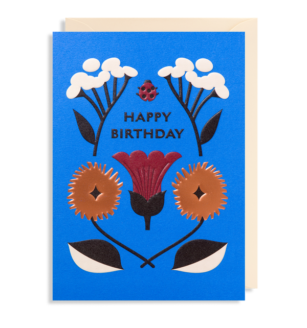 Lucky Ladybird: Birthday Card