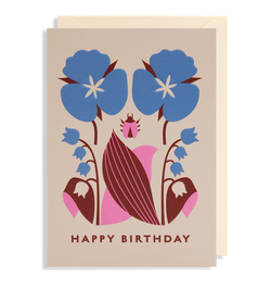 Lilly of the Valley Happy Birthday - Lagom Design