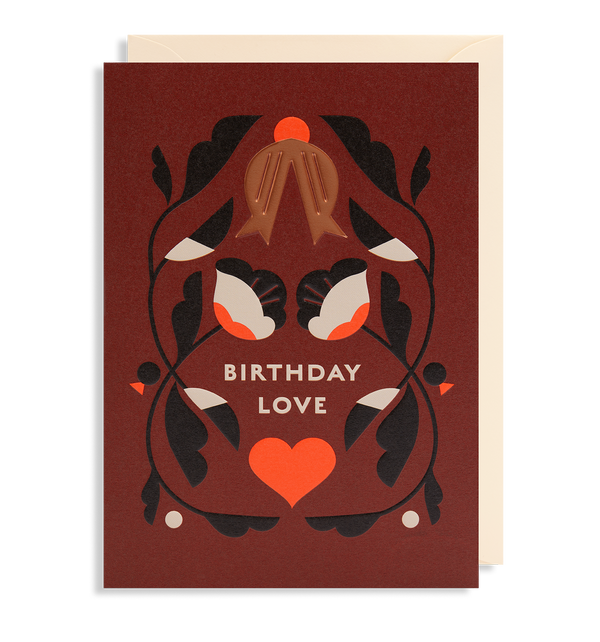 Loveheart Birthday Love - Lagom Design