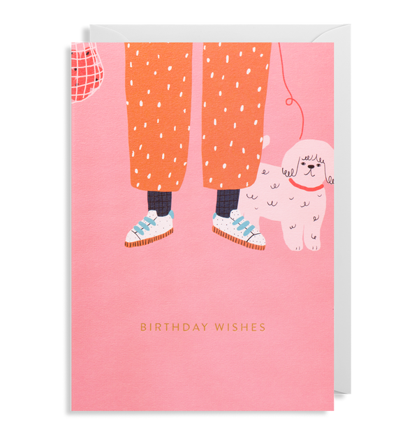 Poodle: Birthday Card