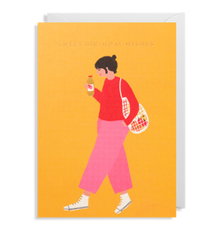 Walk: Birthday Card