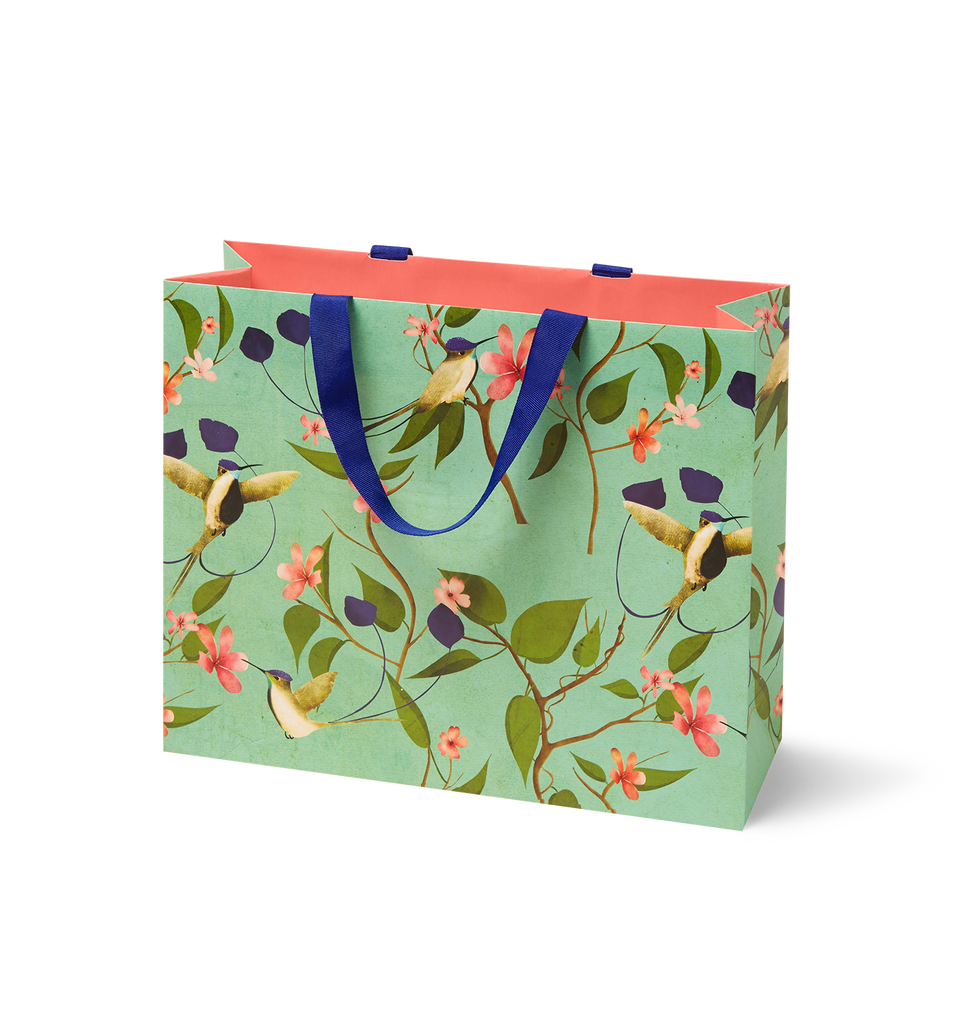 Medium Hummingbird Gift Bag - Lagom Design