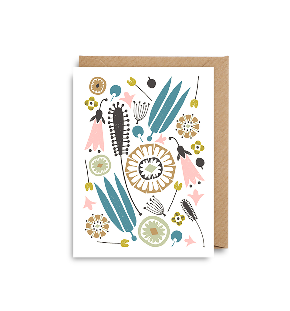Floral Mini Card - Lagom Design