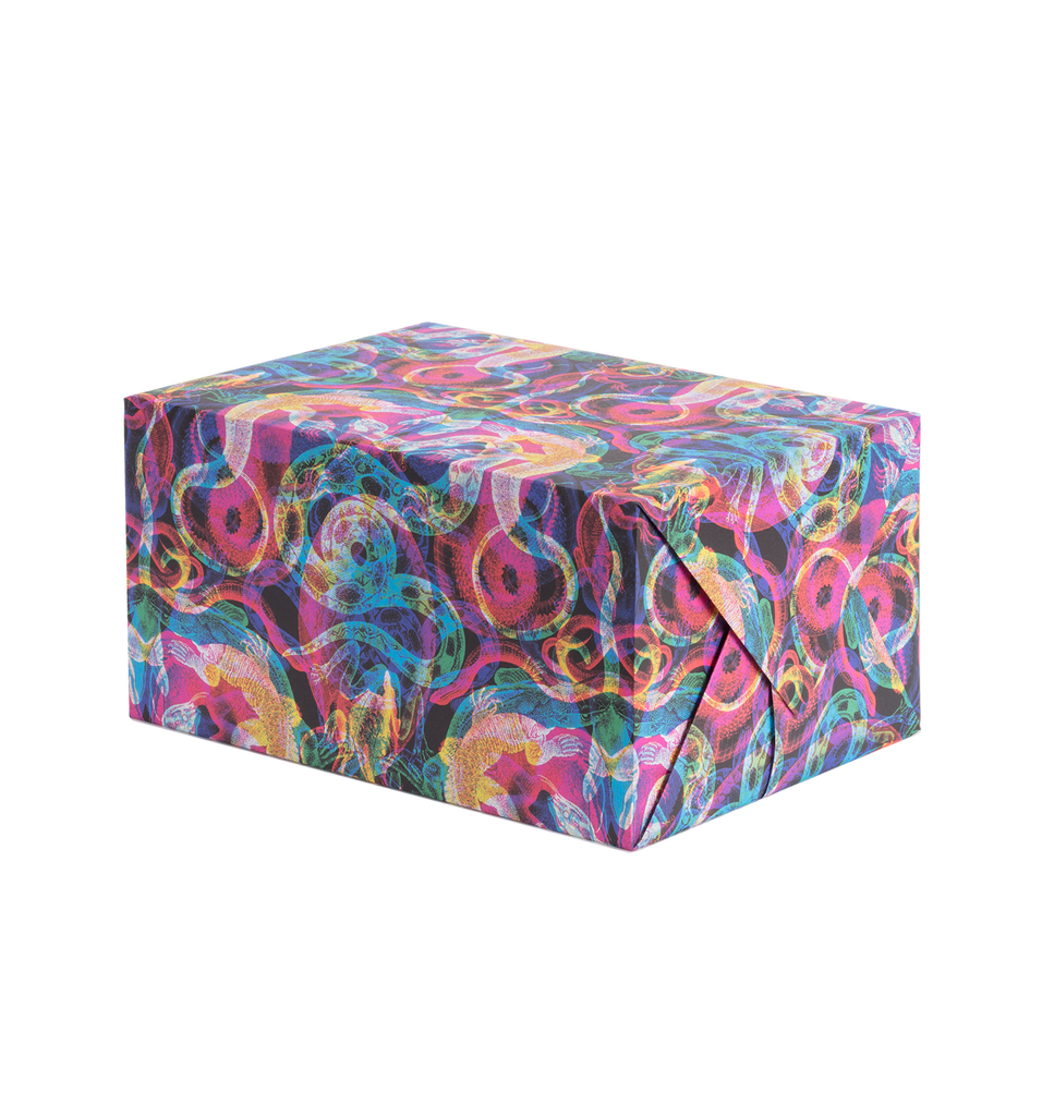 Damasco Negro Gift Wrap - Lagom Design