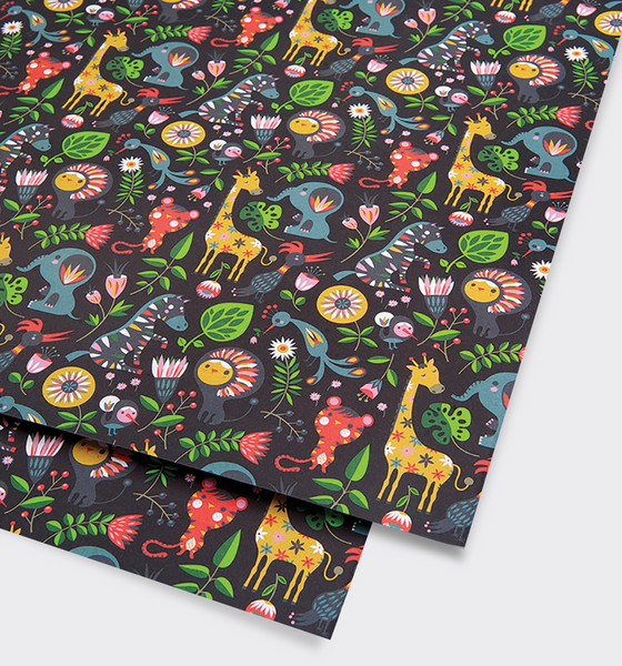 Animals Gift Wrap - Lagom Design