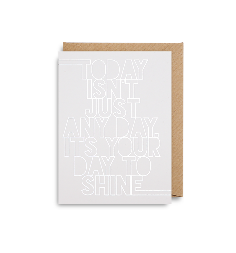 Shine Mini Card