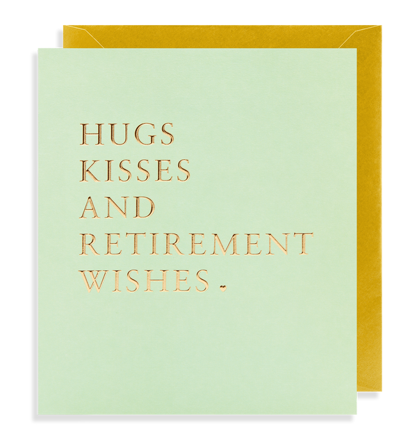 Retirement Wishes - Lagom Design