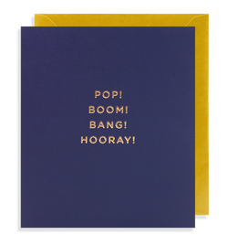 Pop! Boom! Bang! Hooray! - Lagom Design