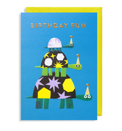 Party Hats For Everyone: Birthday Card