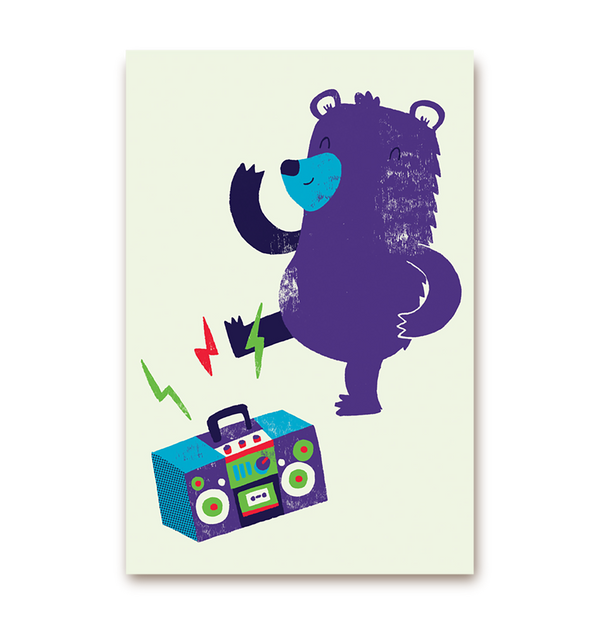 Dancing Bear - Lagom Design